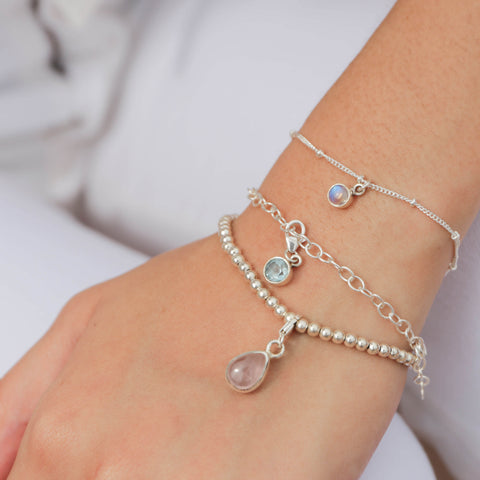 925 Silver Charm Series Bracelet - Beads