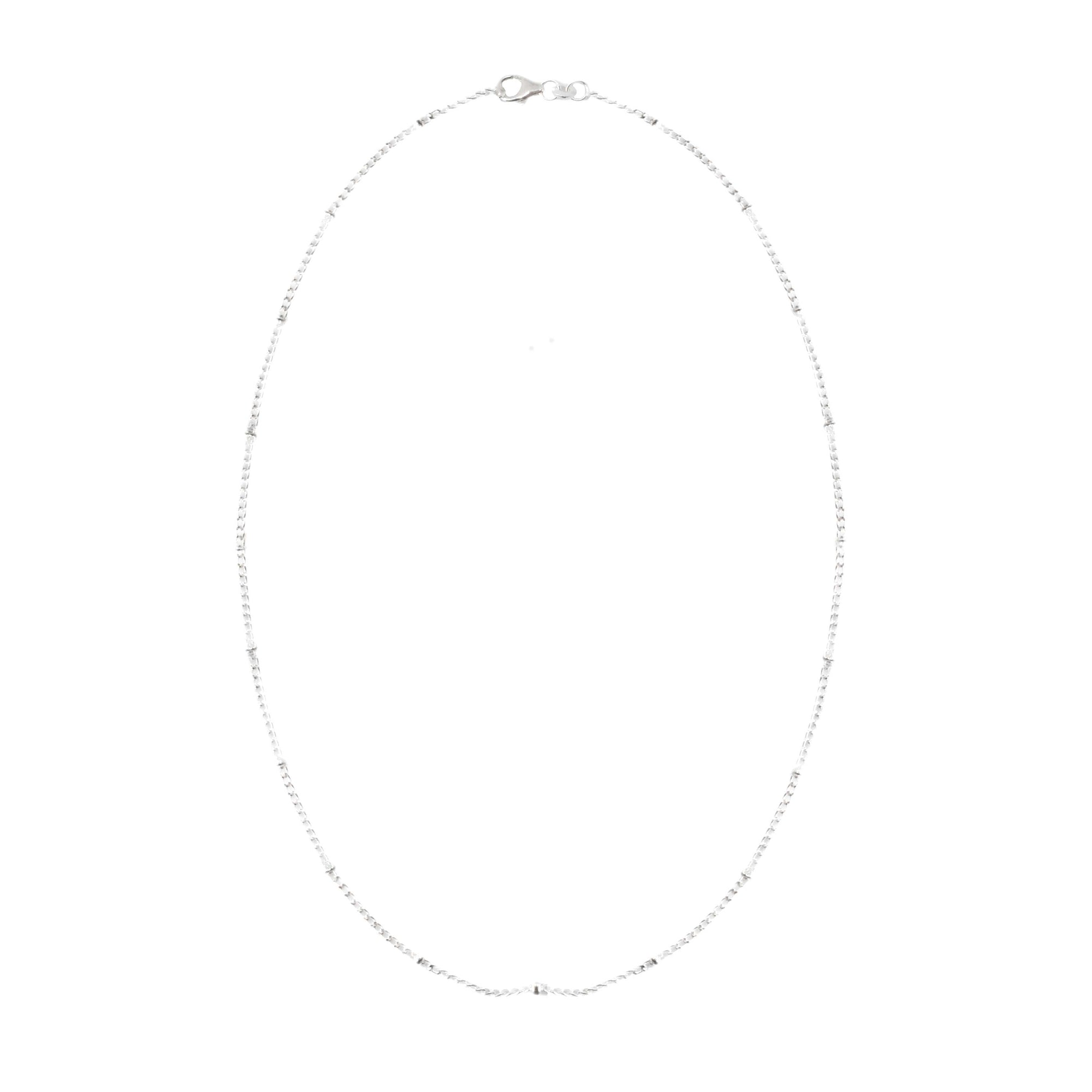 925 Silver Chain Series Necklace - Ball Chain (16 Inches)