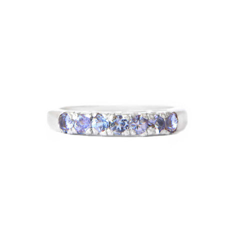925 Silver Luxe Series Ring - Hana (Tanzanite)