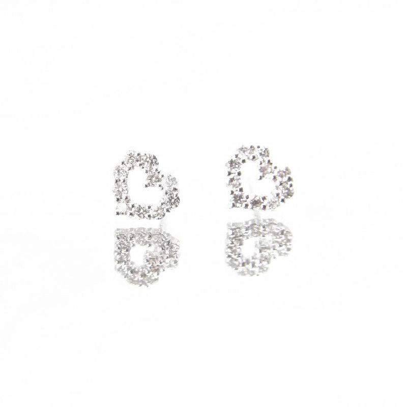 Diamond Series - Earrings - Arianna Studs (0.2 Carats, 18K White Gold)