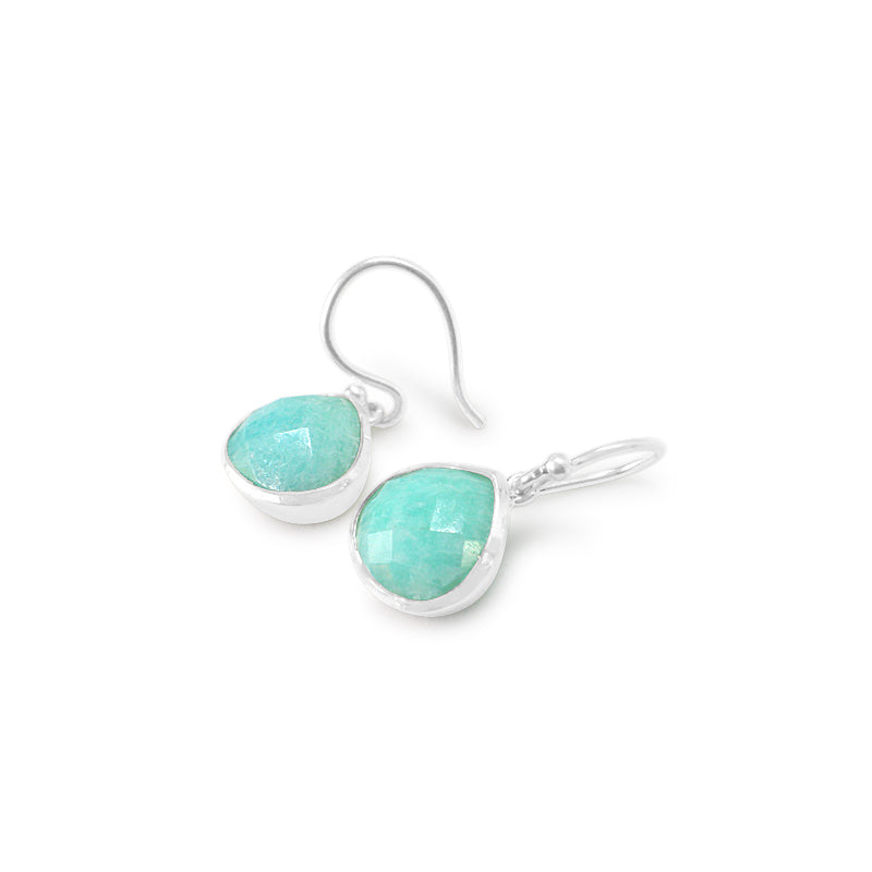 925 Silver Classic Series Earrings - Venus (Amazonite)
