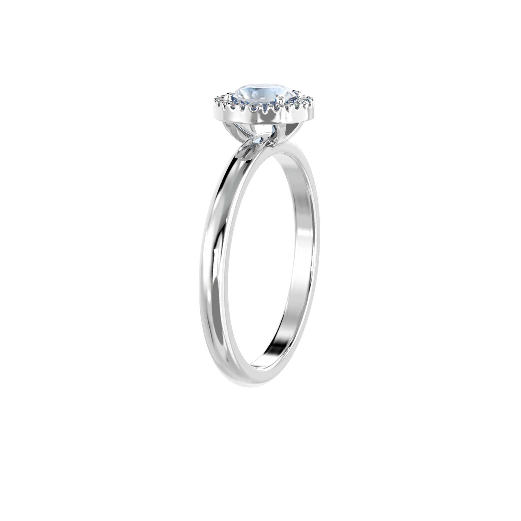 925 Silver Luxe Series Ring - Lydia (Moonstone)