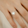 925 Silver Luxe Series Ring - Leanne (Moonstone)