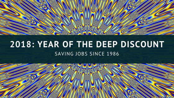 2018: Year of the Deep Discount