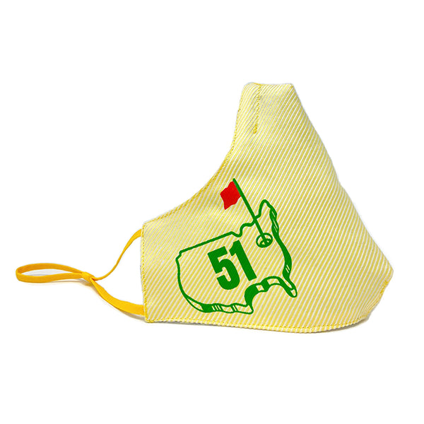 51st Hole S.R.E. MASK (Yellow/Red)