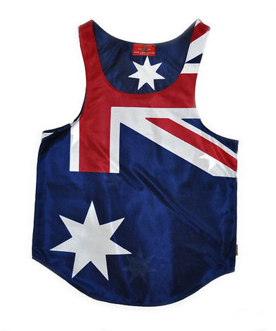 Australia Flag Tank Top - CHRiS CARDi House of Design