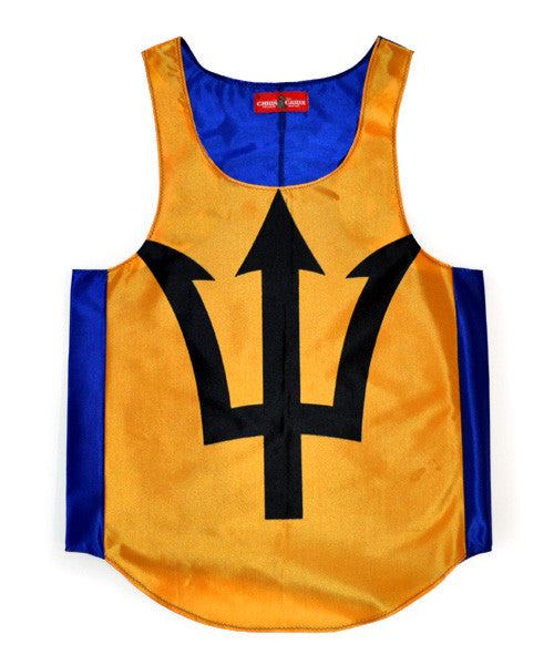 Barbados Flag Tank Top - CHRiS CARDi House of Design