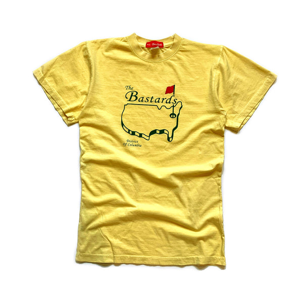 Bastard's Tee (Collegiate Yellow) - CHRiS CARDi House of Design