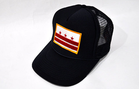 D.C. Capital Crown Trucker Cap - CHRiS CARDi House of Design