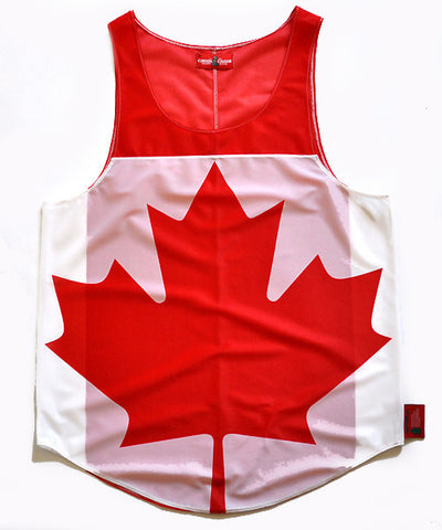 Canada Flag Tank Top - CHRiS CARDi House of Design