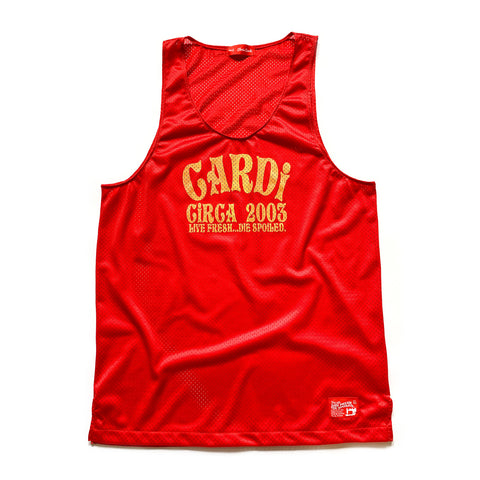 CARDi Rec League Tank Top (Ketchup/Mustard) - CHRiS CARDi House of Design