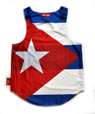 Cuba Flag Tank Top - CHRiS CARDi House of Design