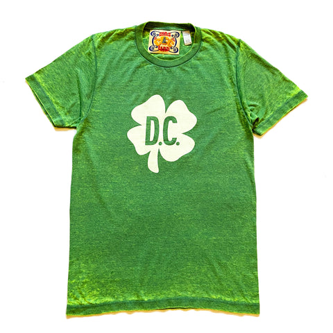 DC Shamrock Burnout Tee - CHRiS CARDi House of Design