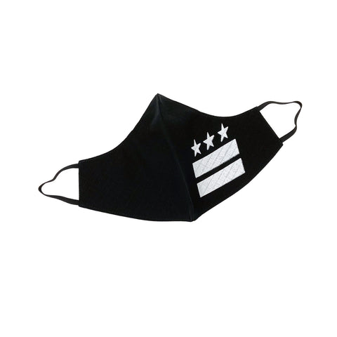 DISTRICT FLAG S.R.E. MASK (Black) - CHRiS CARDi House of Design