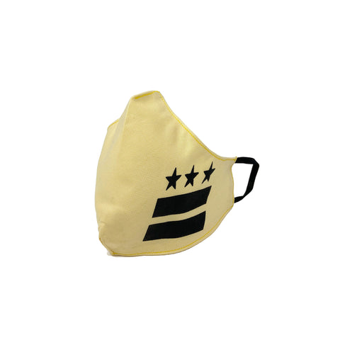DISTRICT FLAG S.R.E. MASK (Yellow/Black)