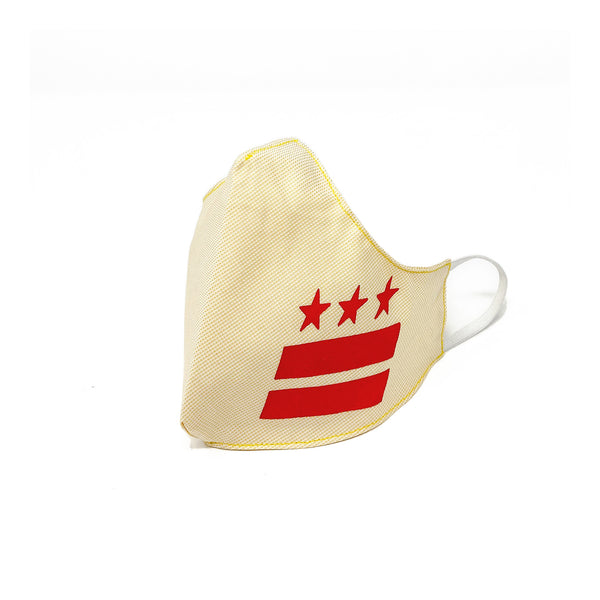 DISTRICT FLAG S.R.E. MASK (Yellow/Red)