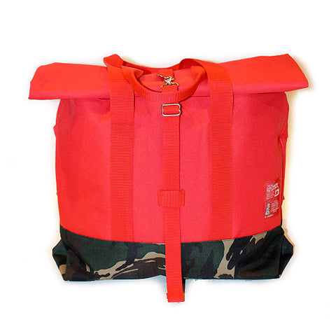 Brookland Bag (Red/Camo) - CHRiS CARDi House of Design