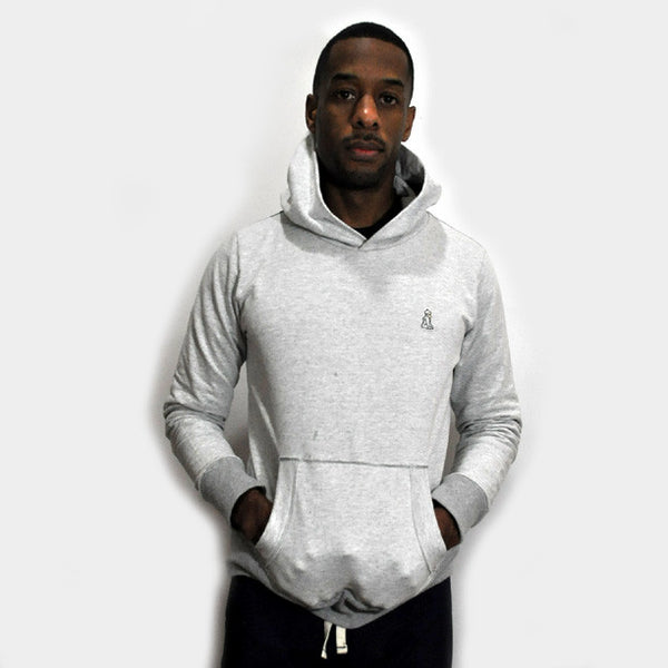 Warm Up Hoody Sweatshirt (Heather Gray)