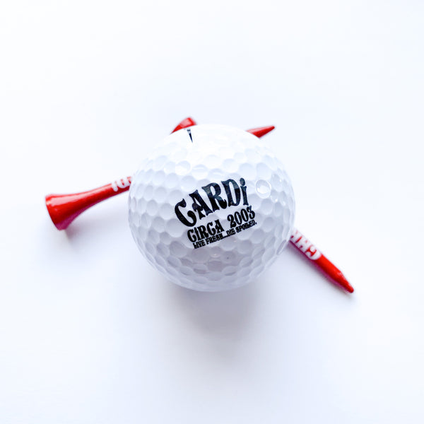 Golf Ball & Tee Set - CHRiS CARDi House of Design