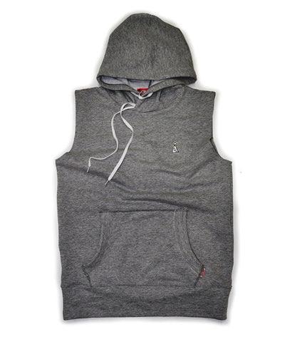 Sleeveless Hoody (Heather Gray)