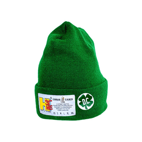 "H Street ""Size Matters Beanie"" (Kelly Green) - CHRiS CARDi House of Design"