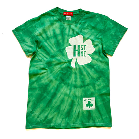 H ST NE Shamrock  TwistDye Tee - CHRiS CARDi House of Design