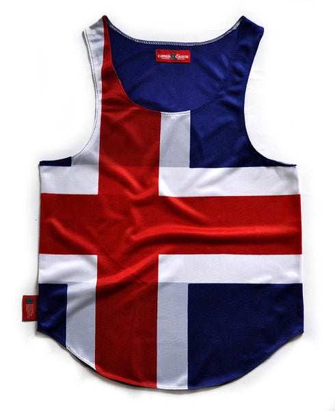 Iceland Flag Tank Top