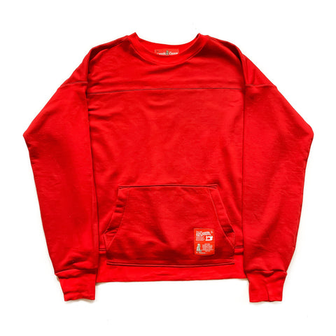Isherwood Sweatshirt (Red) - CHRiS CARDi House of Design
