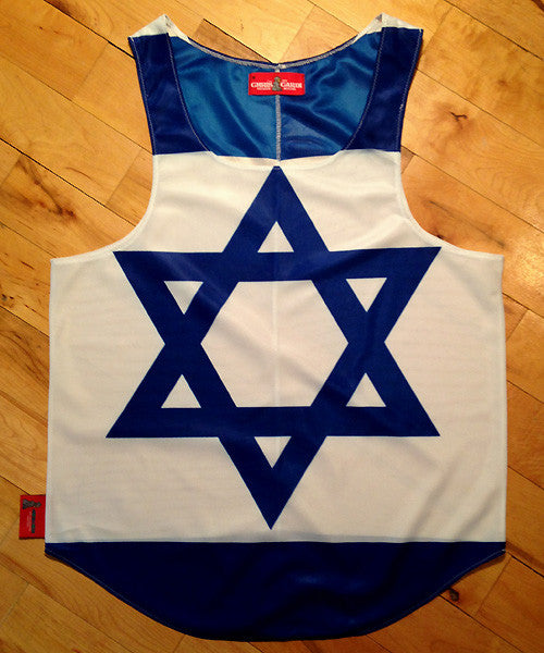Israel Flag Tank Top
