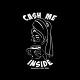 CocoaJoJoe for CHRiS CARDi CMI Boxy Black Tee (Towel & Tea ) - CHRiS CARDi House of Design
