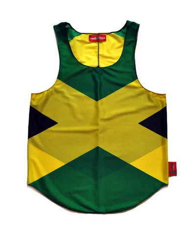 Jamaica Flag Tank Top - CHRiS CARDi House of Design