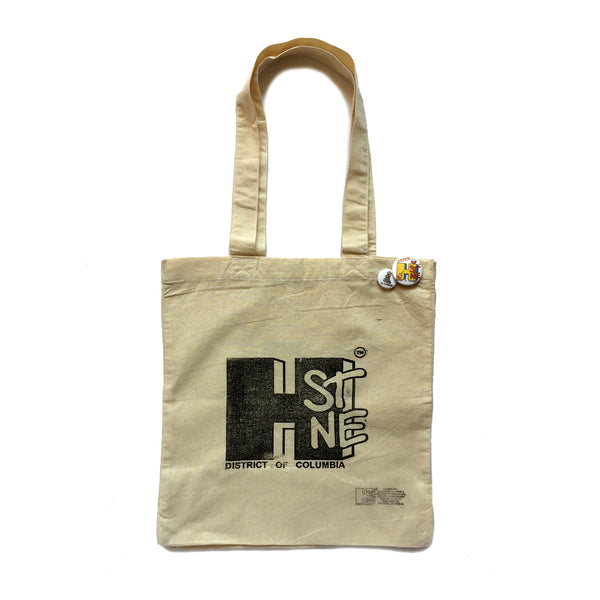 H Street Nostalgia Tote (large) - CHRiS CARDi House of Design