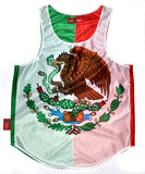 Mexico Flag Tank Top - CHRiS CARDi House of Design