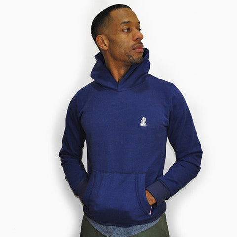 Warm Up Hoody Sweatshirt (Navy)