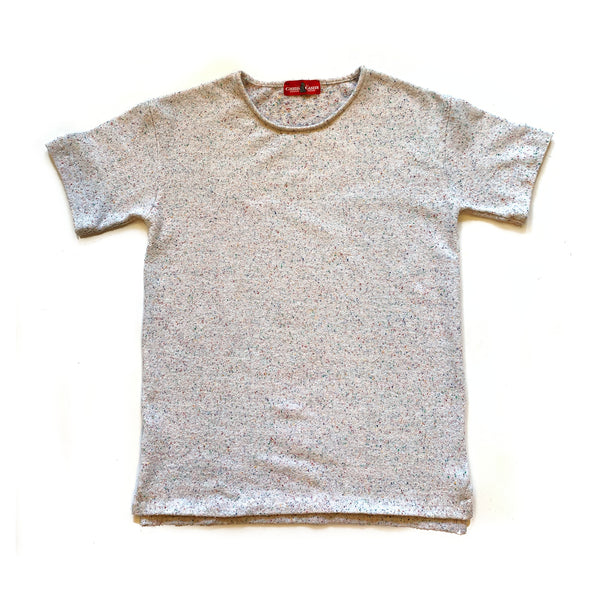 No Crew Tee (Speckled Terry) - CHRiS CARDi House of Design