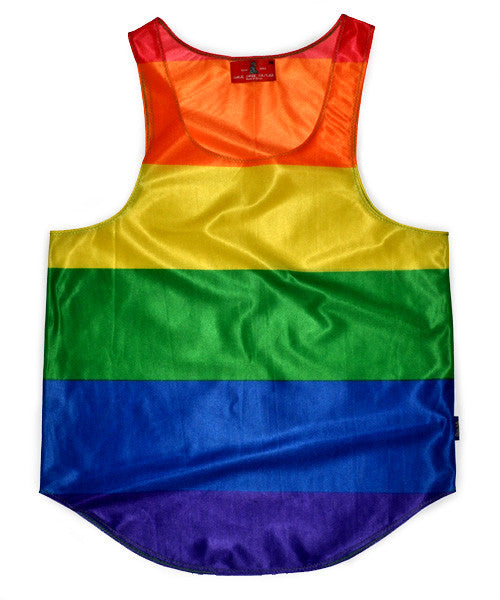 Pride International Flag Tank Top
