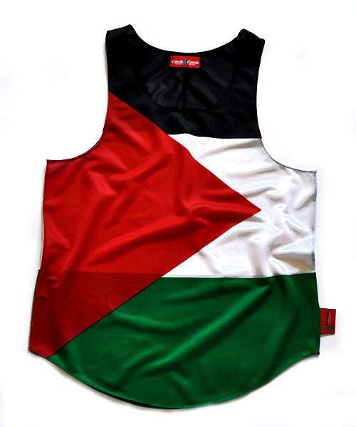 Palestine Flag Tank Top