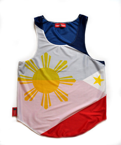 Philippines Flag Tank Top