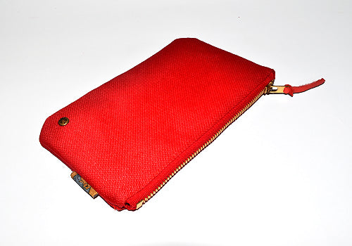 Quincy Clutch (Red) - CHRiS CARDi House of Design