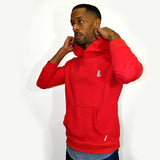 Warm Up Hoody Sweatshirt (Red) - CHRiS CARDi House of Design