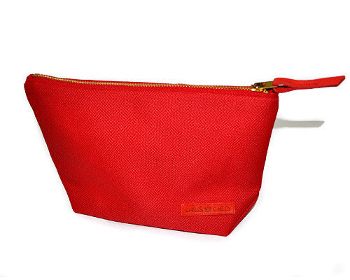 Roxy Unisex Carry-All Clutch (Red) - CHRiS CARDi House of Design