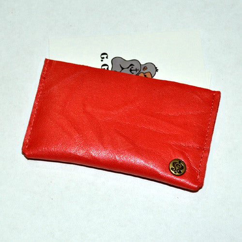 Tory Perforated Unisex Pocket Wallet (Red)