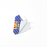 Retro Patch S.R.E. MASK (Blue, White, Yellow) - CHRiS CARDi House of Design