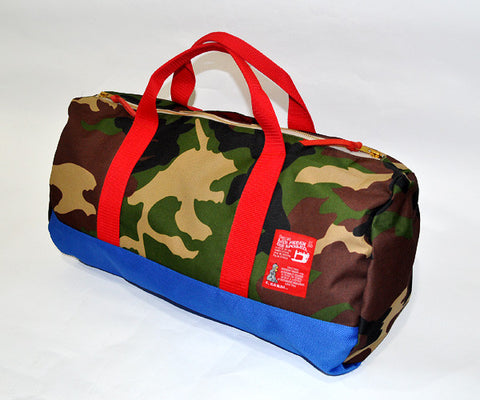 Ronnie Gym Bag (Blue/Camo)