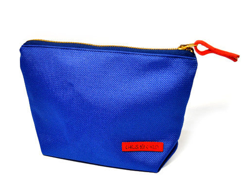 Roxy Unisex Carry-All Clutch (Royal) - CHRiS CARDi House of Design