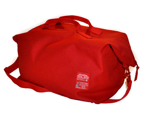 Red Eye Traveler Duffle Bag - CHRiS CARDi House of Design
