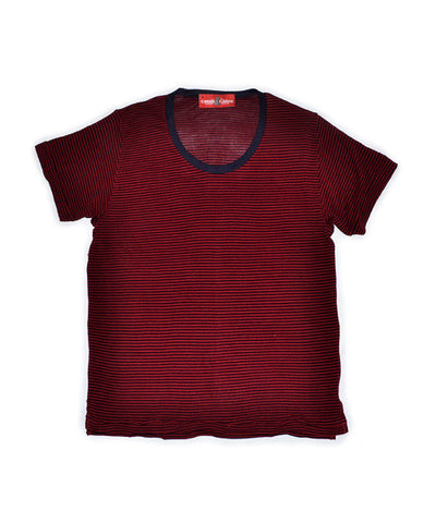 Red Stripe Ring Tee