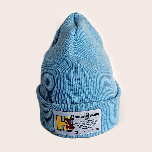 Hst Size Matters Beanie (Sky Blue) - CHRiS CARDi House of Design