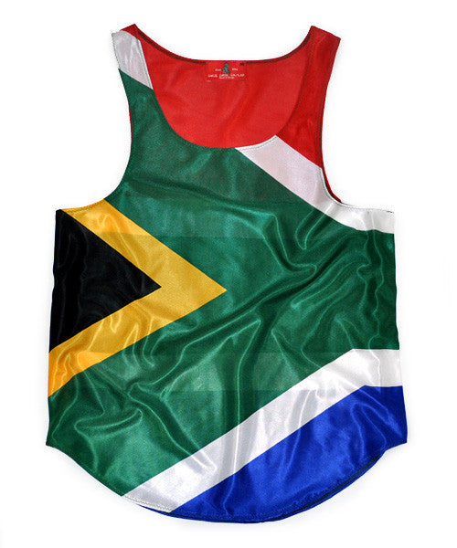 South Africa Flag Tank Top - CHRiS CARDi House of Design