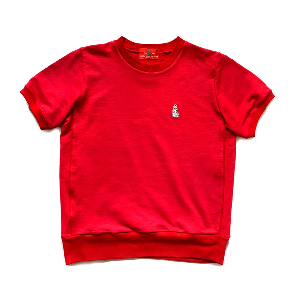 Short Sleeve Warm Up Tee (Red) - CHRiS CARDi House of Design